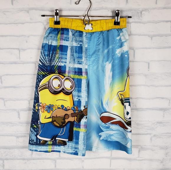 a35baaf6a0 Universal Studios Swim   Despicable Me Minion Trunks Boys 1012 Dd ...